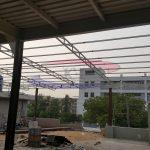 Stainless Steel Decking Under Construction